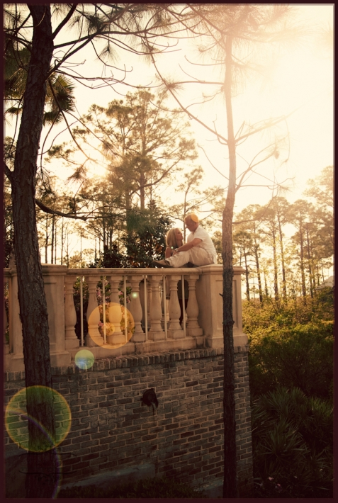 engagement portraits at the Village at Baytowne Wharf, engagement session at The Village at Sandestin