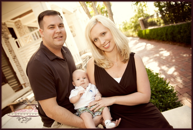 family portraits at the Village at Baytowne Whard, Sandestin Golf & Beach Resort