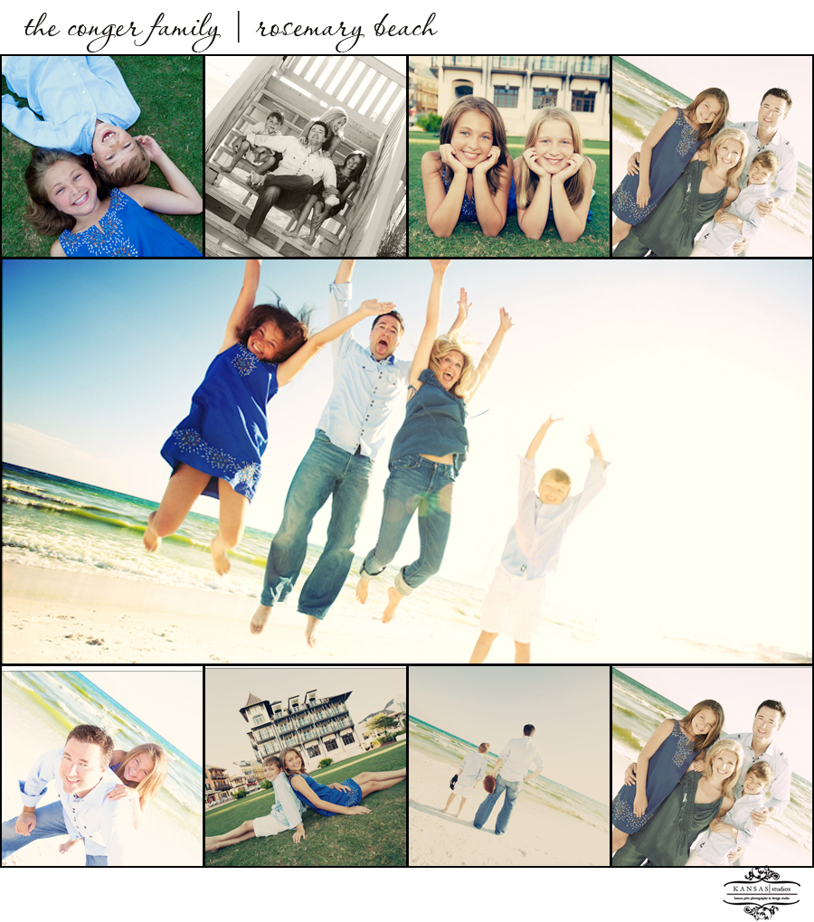 the conger family | rosemary beach
