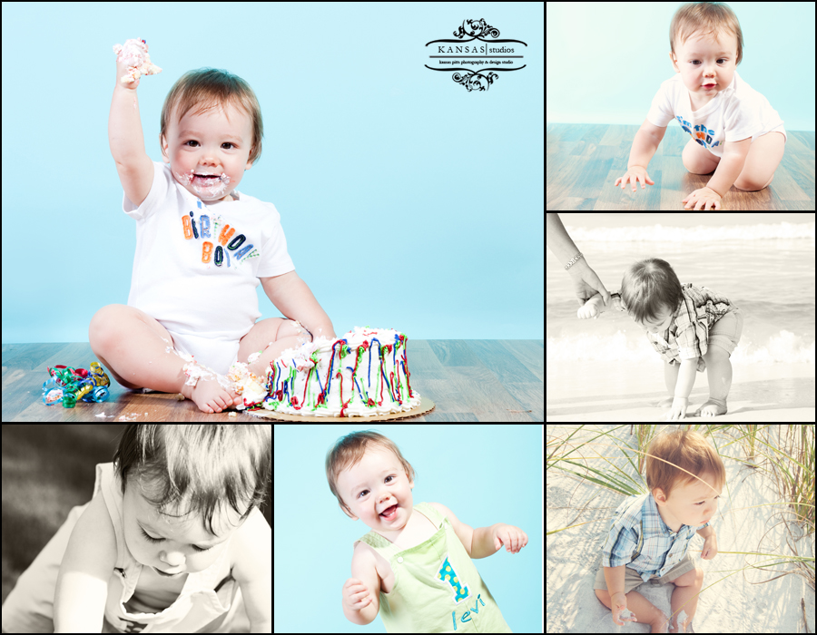 Levi is One! Baby Portraits in Destin