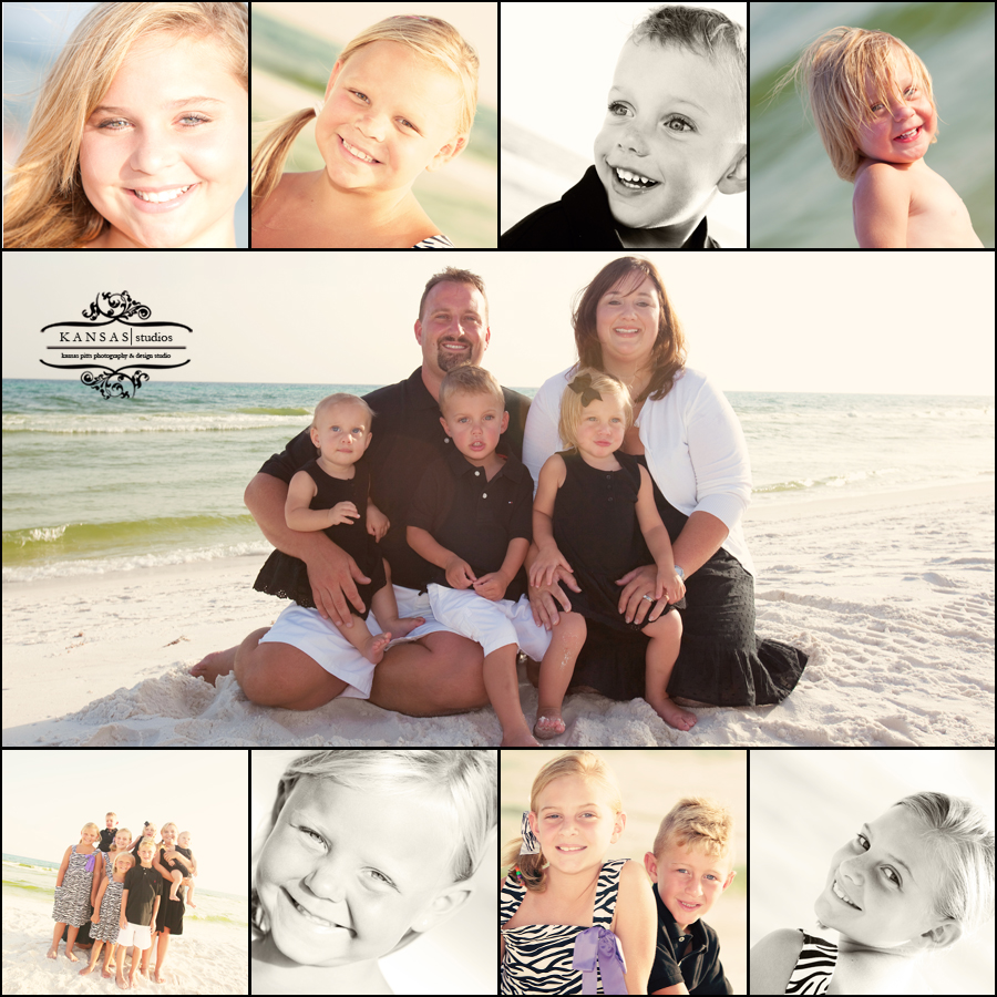 the gislclair family beach portraits at gulf trace, grayton beach