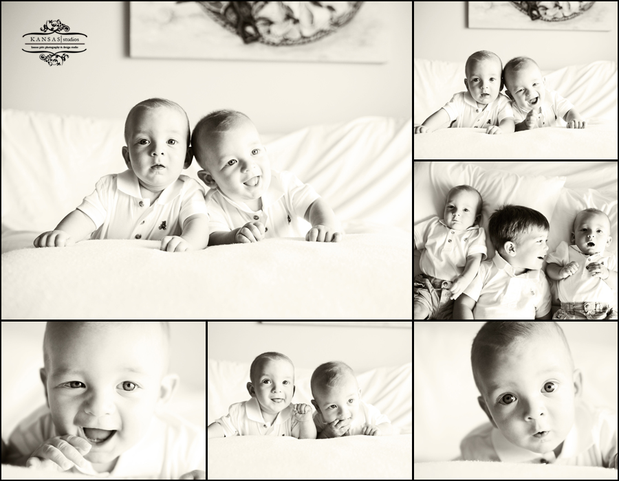 the twins baby portraits in Panama City Beach