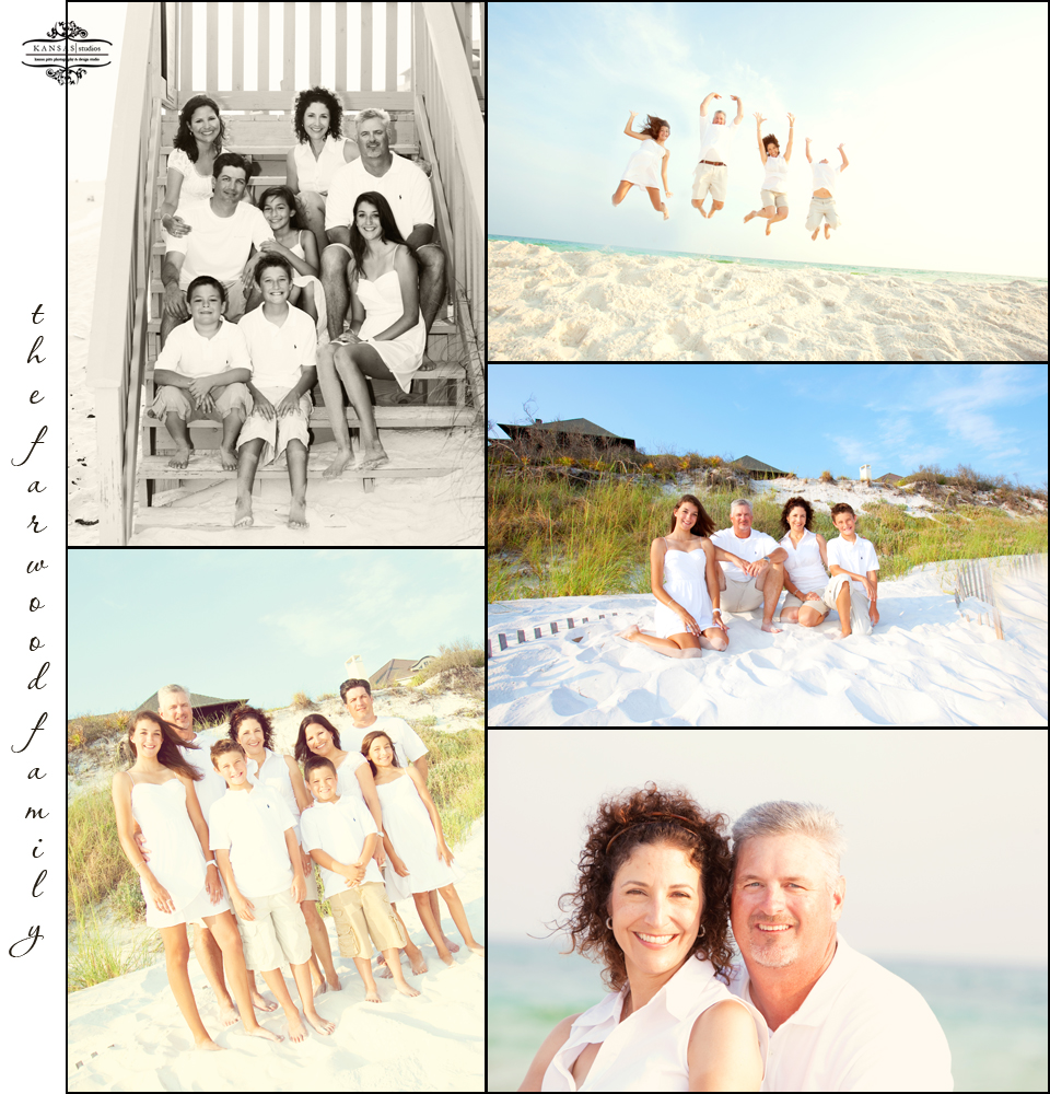 the farwood family | rosemary beach family beach session