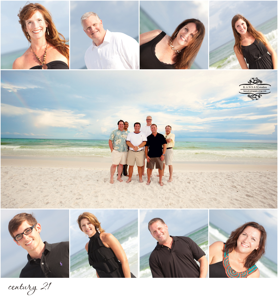 corporate beach portraits