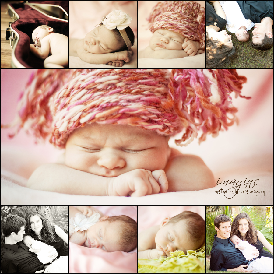 baby charlotte | brand new  { newborn photographer in panama city, florida }