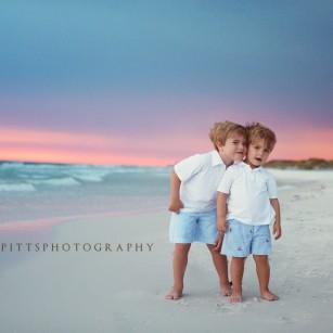 The Thompson Boys A Family Beach Session In Santa Rosa