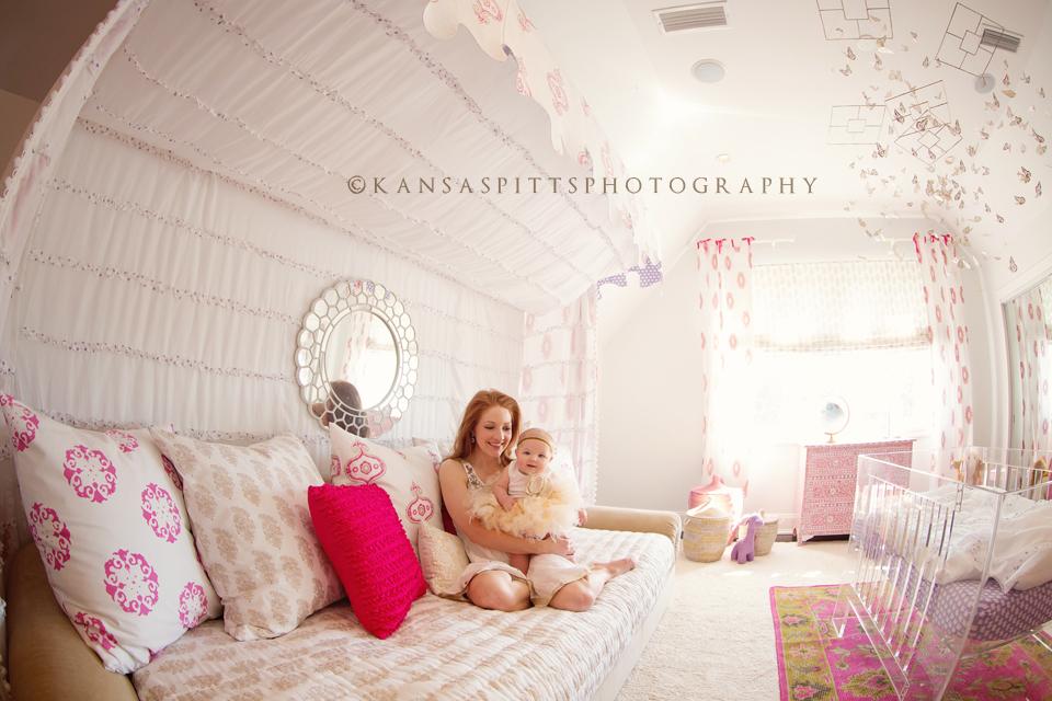 Baby Emerson   6 Months Old   Kansas Studios   Kansas Pitts Photography