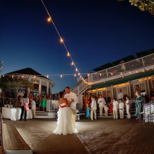 Molly Curt A Seaside Wedding And Reception At Bud Alley S