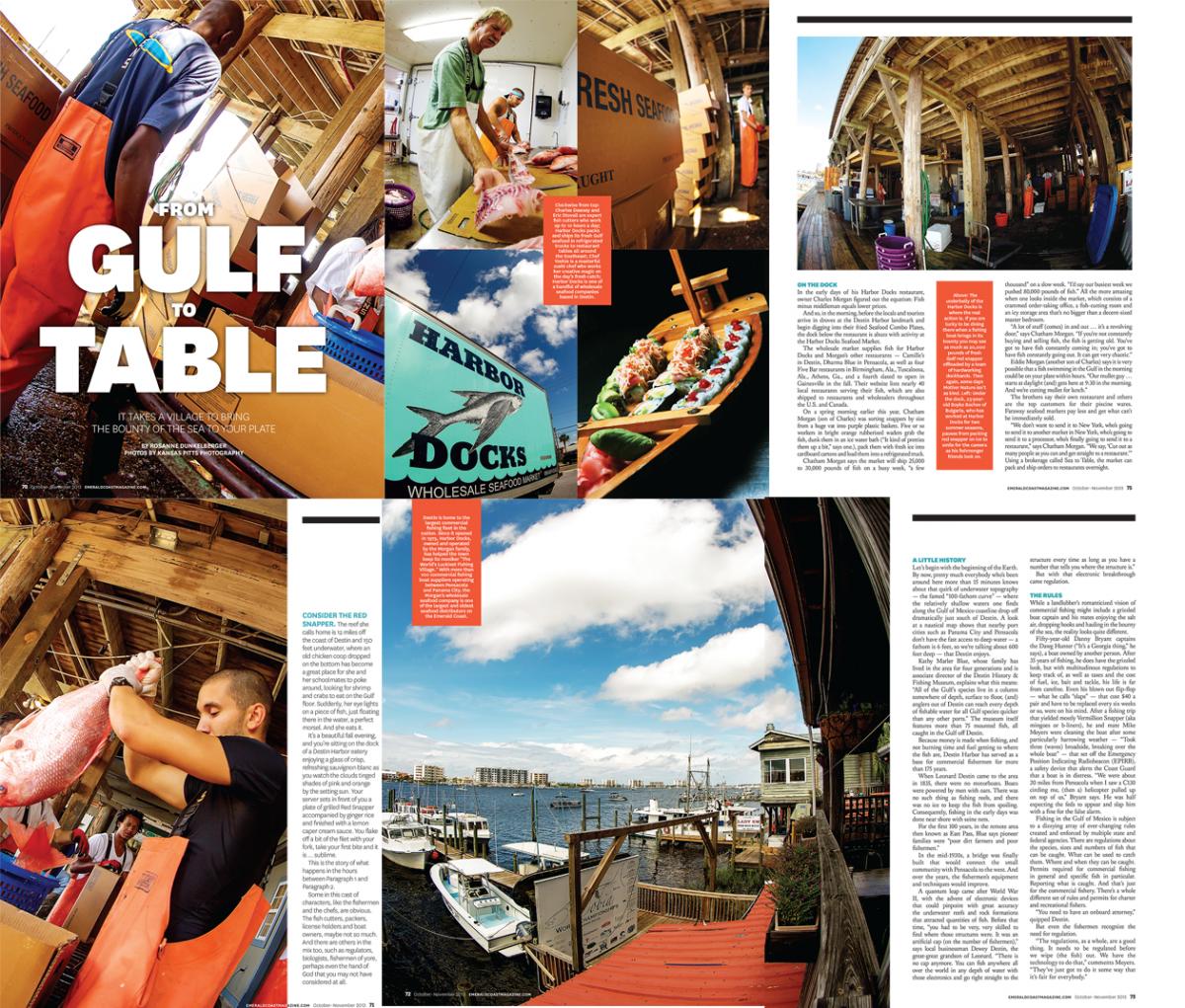A fish market emerald coast magazine feature story for Destin fish market