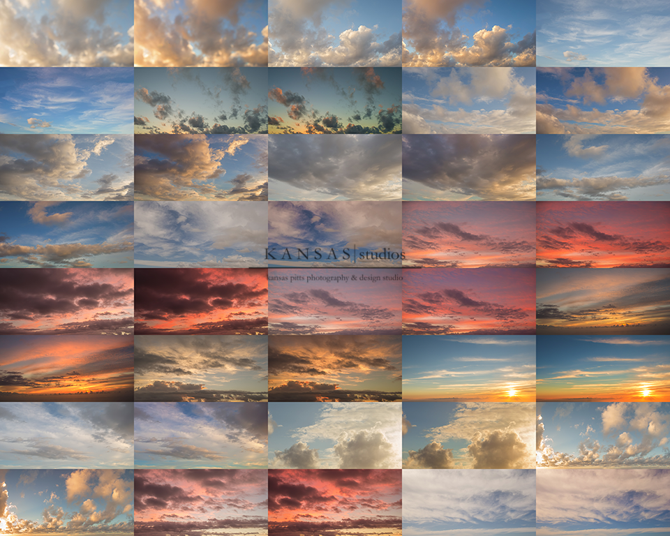 Hawaiian Sky Overlays by Kansas Pitts