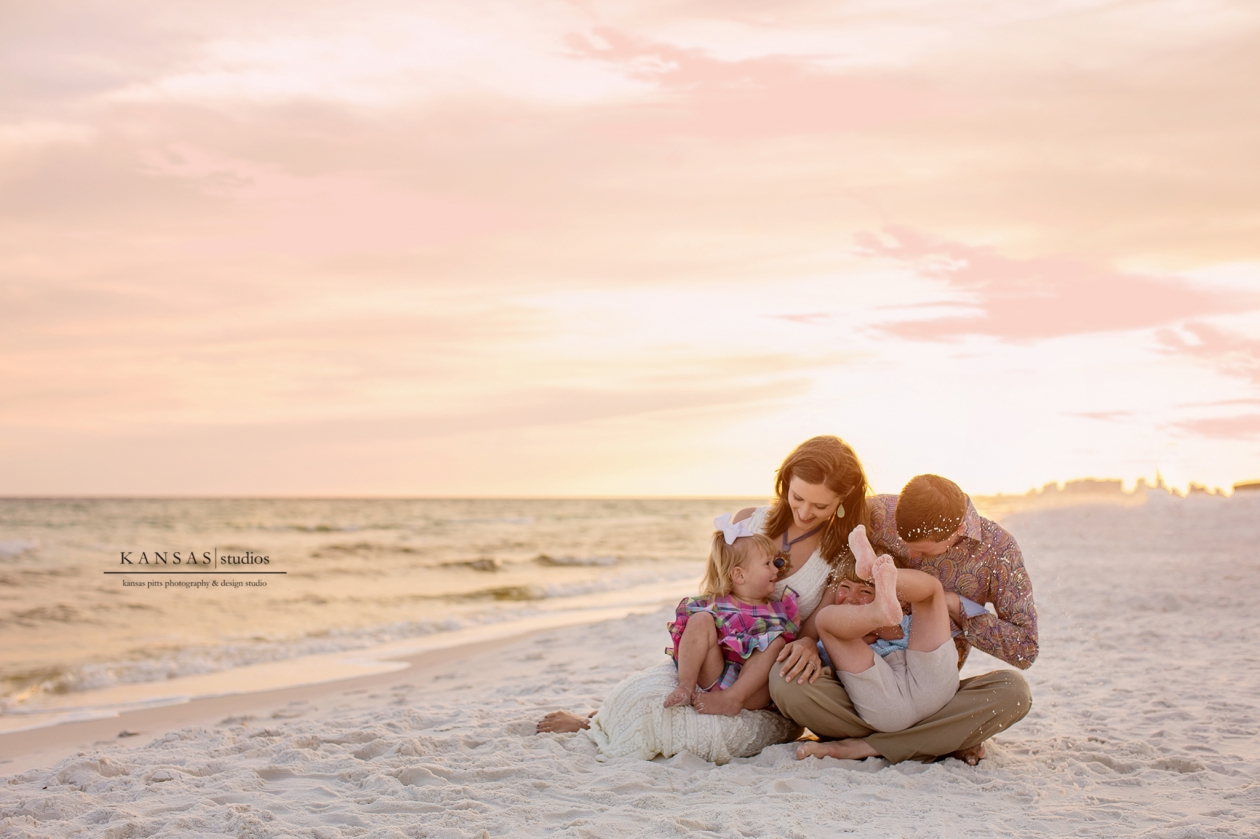 GRegg Family Beach Session in South Walton