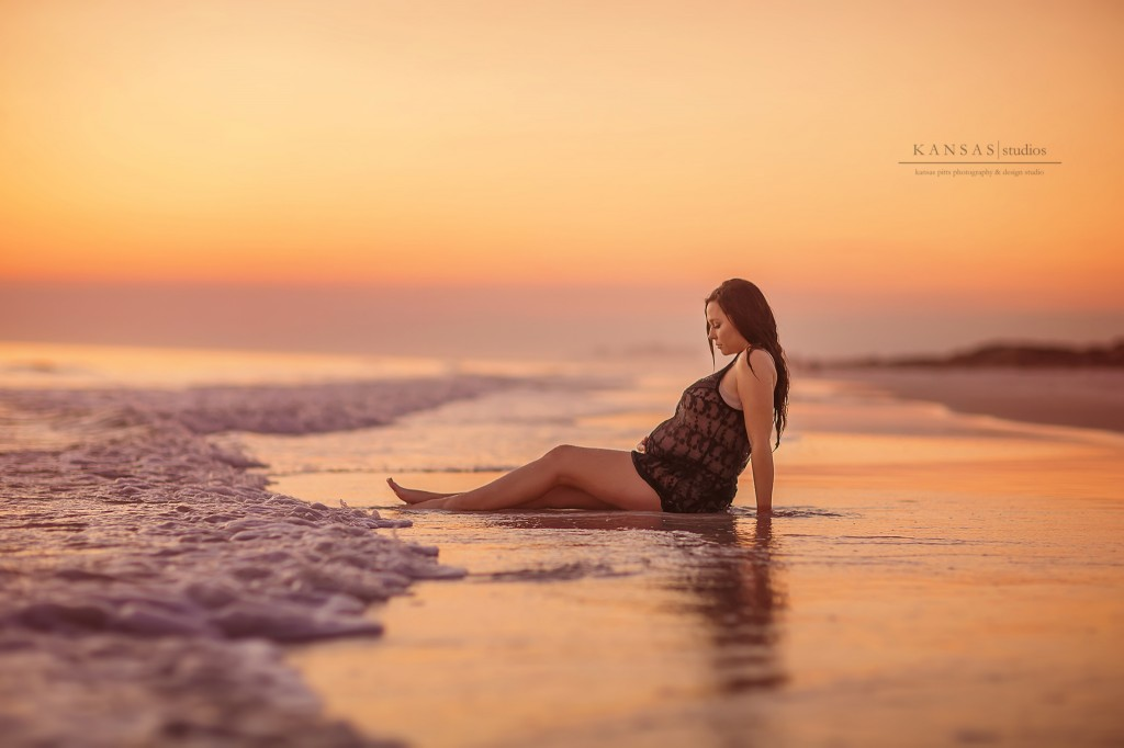 beach maternity by kansas pitts