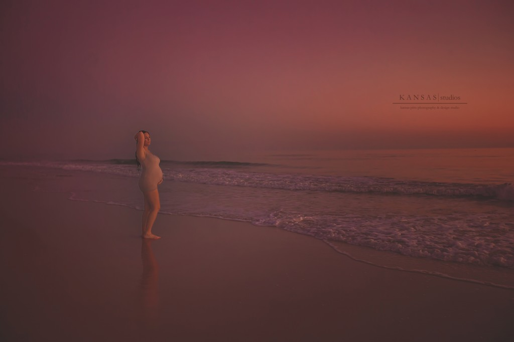 beach maternity by kansas pitts