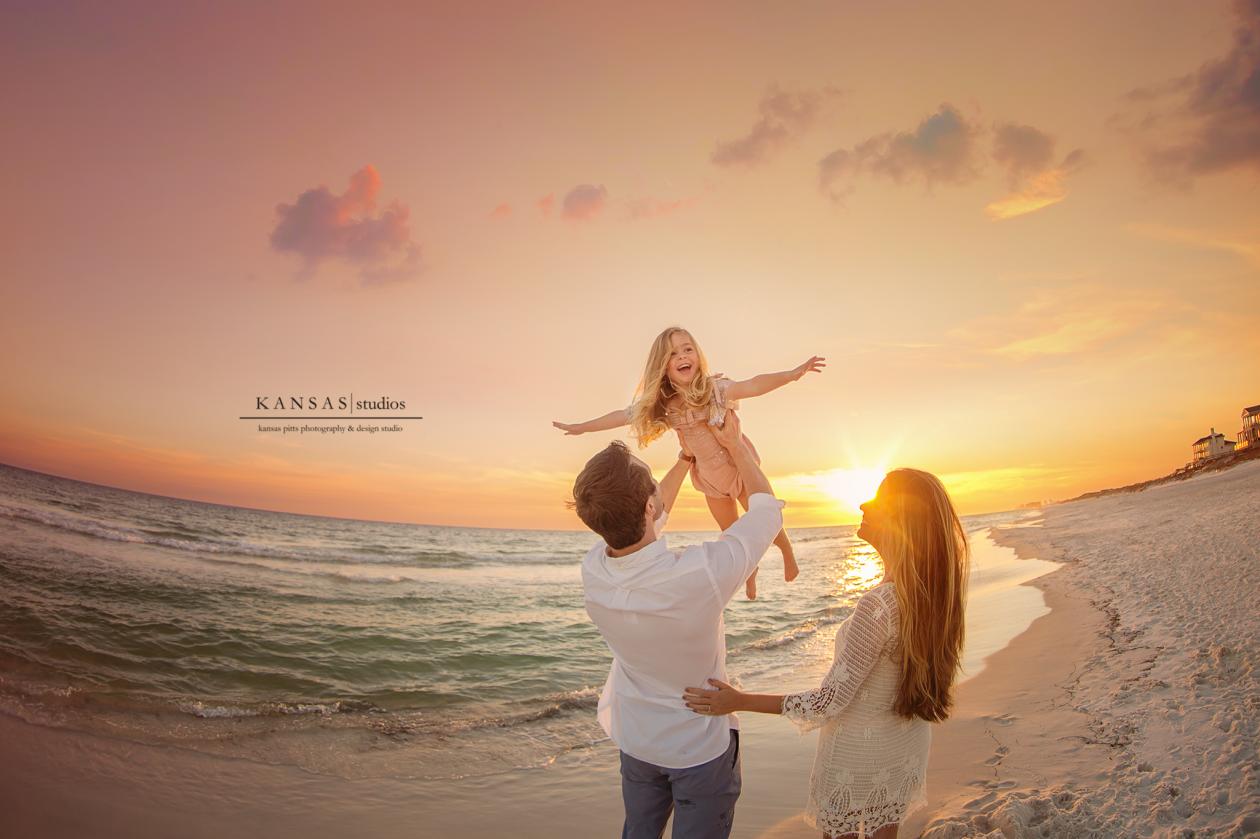 Kansas Pitts Beach Photographer