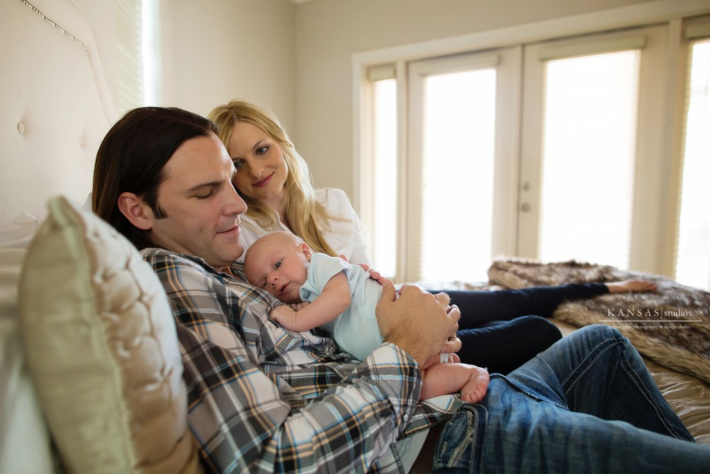 A Lifestyle Nursery Newborn Session