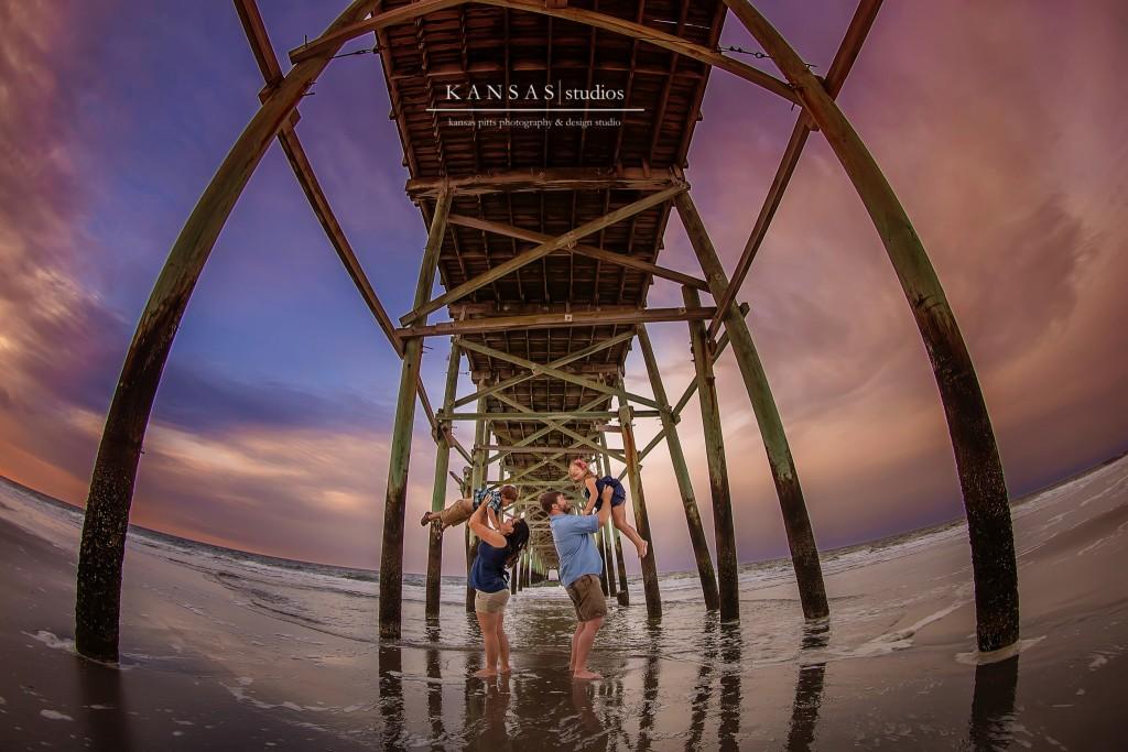 Oak Island Beach Pier