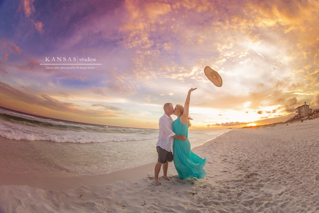 Tillery-14Romantic Sunset Beach Session on the Beaches of South Walton