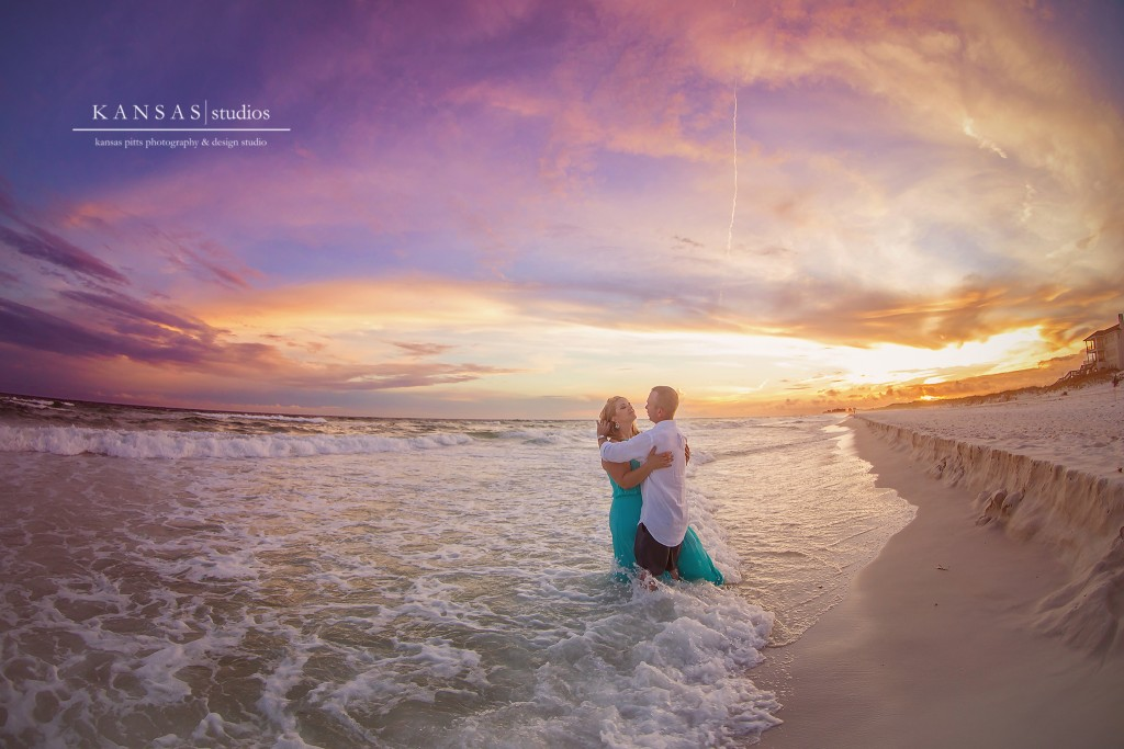 Romantic Sunset Beach Session on the Beaches of South Walton