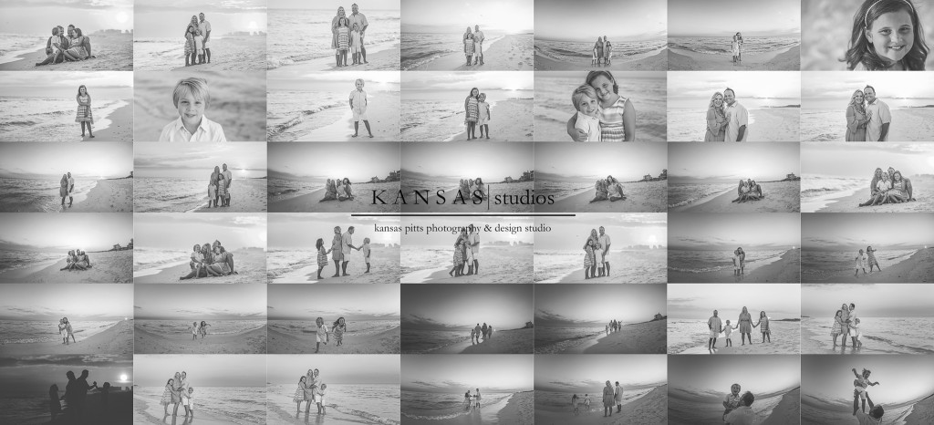Black and white beach pictures