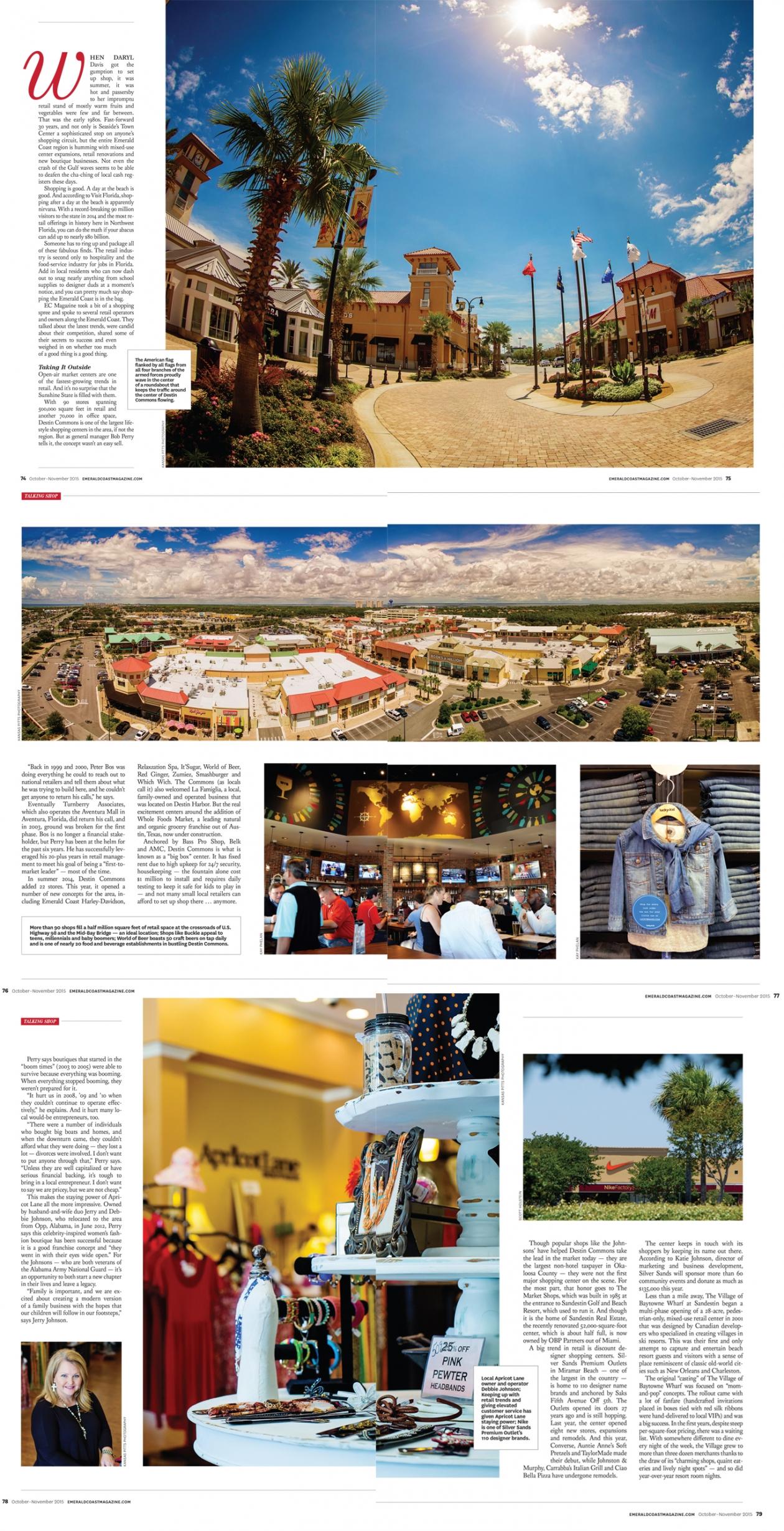Retail feature in EC Mag