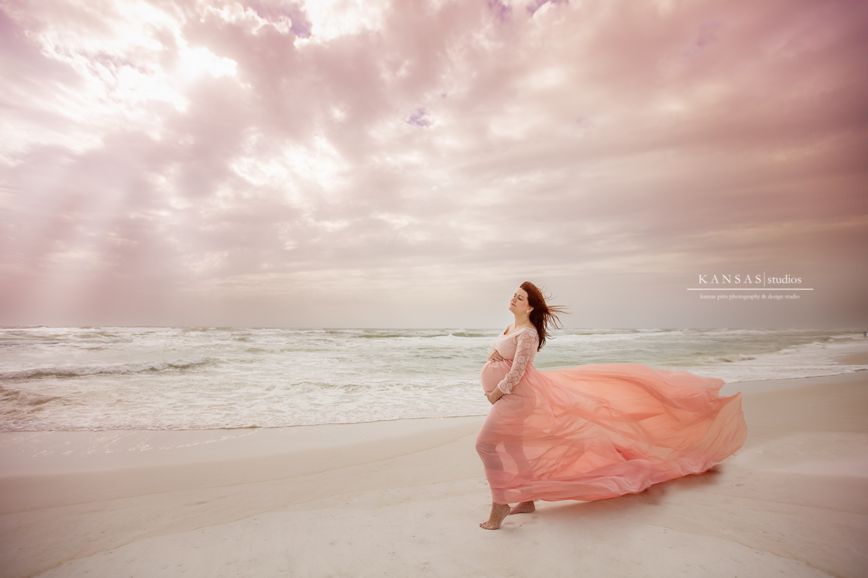 South Walton Beach Maternity Photographer