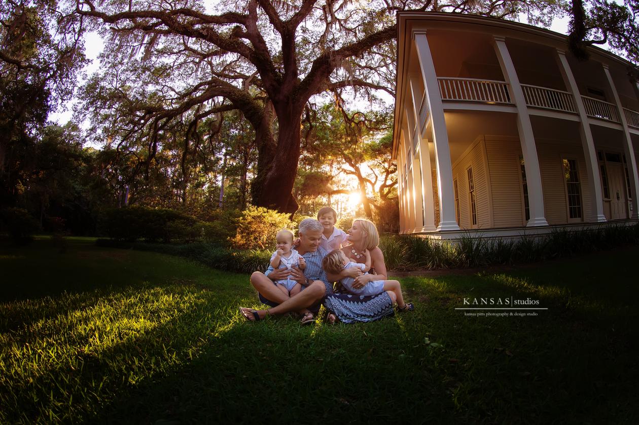 Eden State Gardens Family Photographer