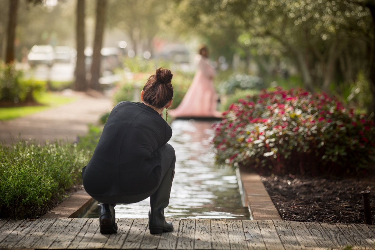 Behind the Scenes Maternity Photographer
