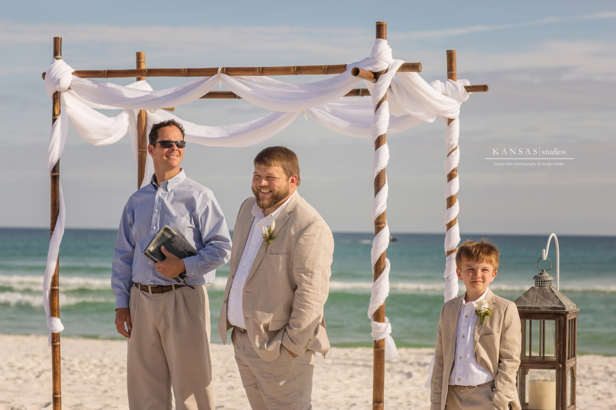 Navarre Beach House Wedding