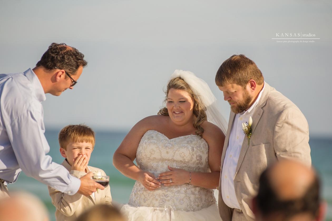 Gulf Breeze Beach Wedding