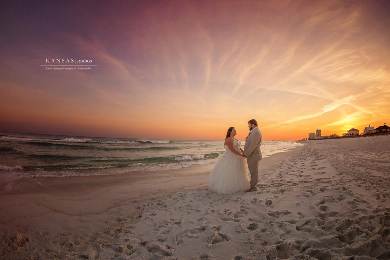 Pensacola Beach House Wedding