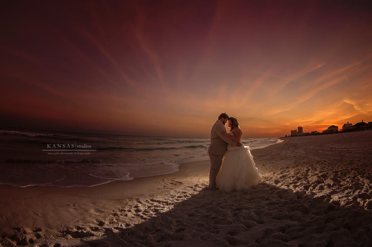OCF Beach Wedding Picture