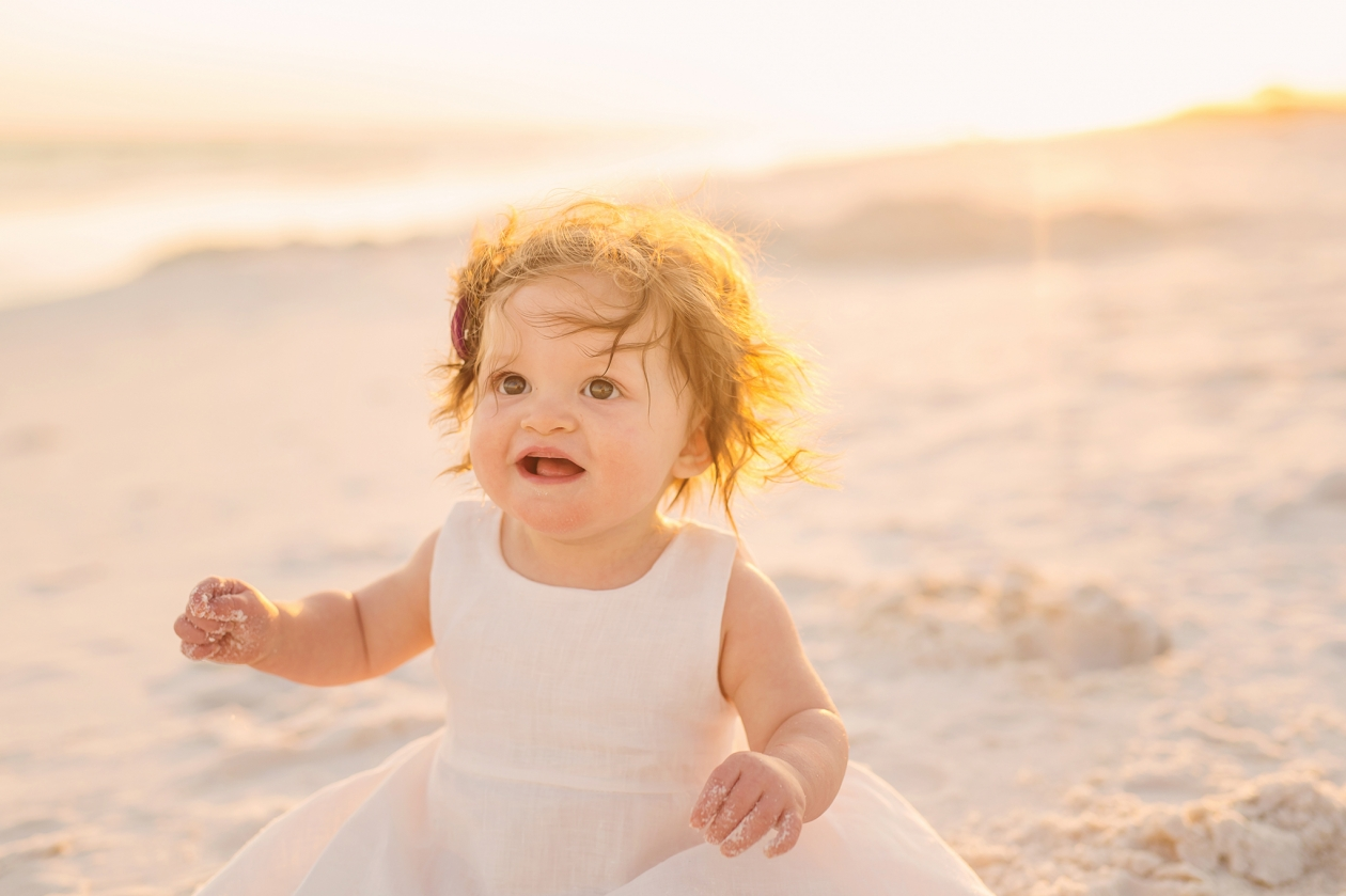 Beach Baby Session