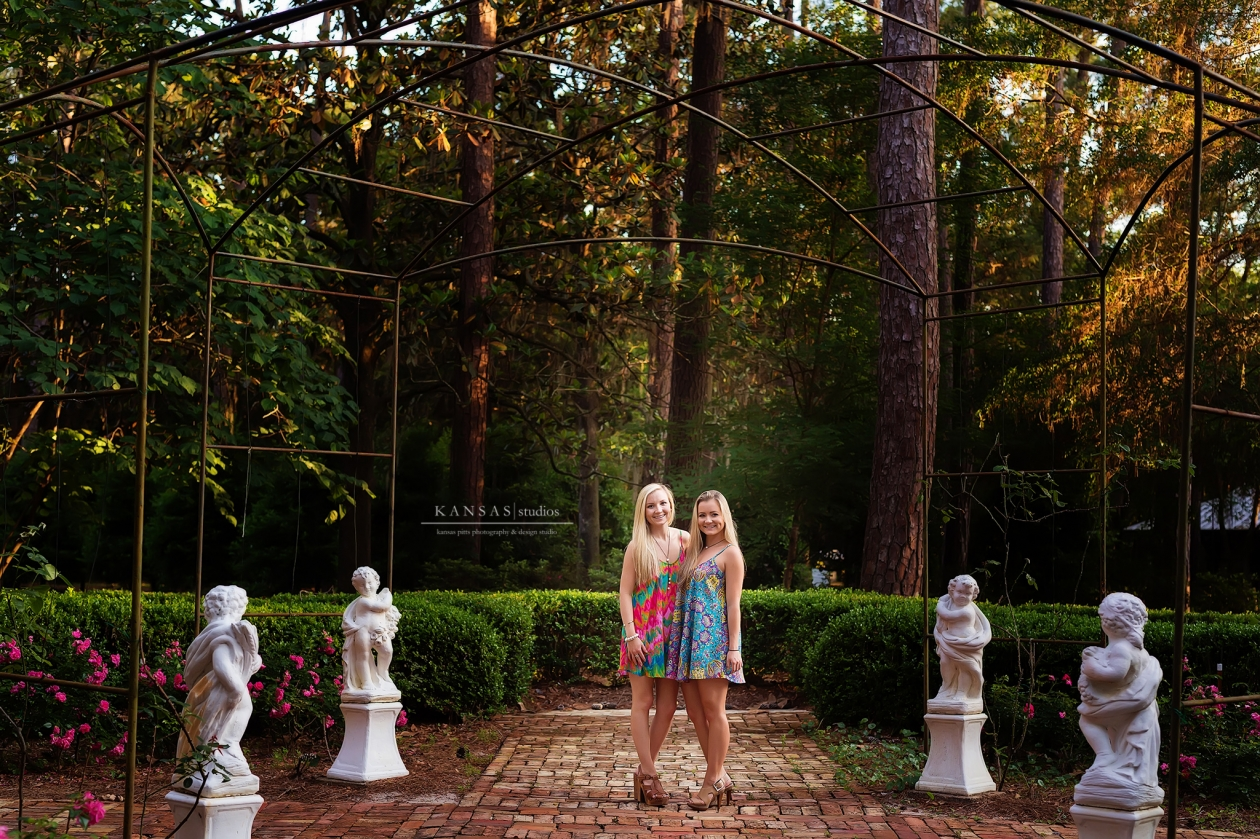 South Walton Senior Portraits at Eden State Gardens