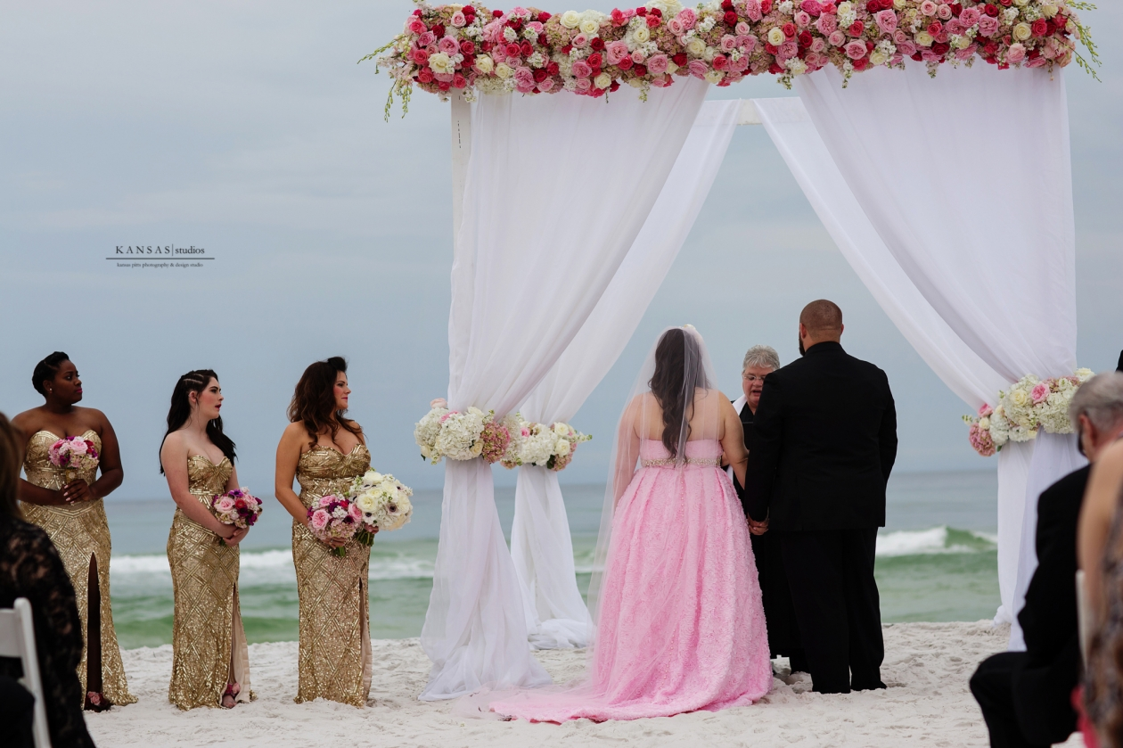 Gulf Place Wedding Florals by the Sea