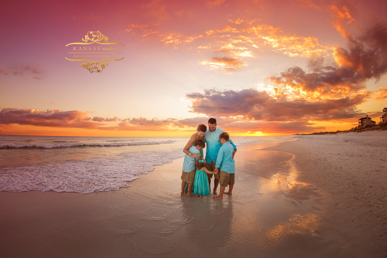 Multigenerational Family Beach Pictures P I N Reunion
