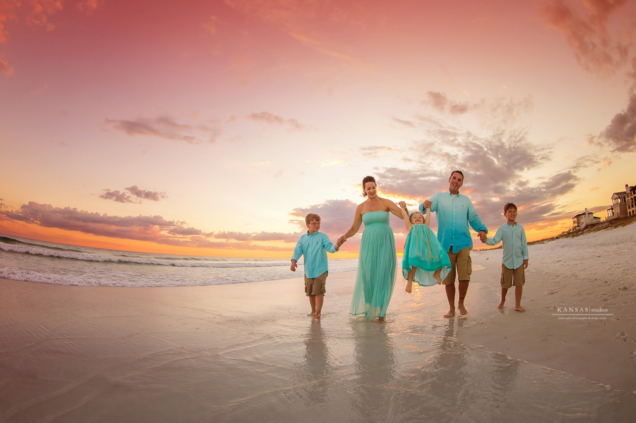 Multigenerational Family Beach Pictures