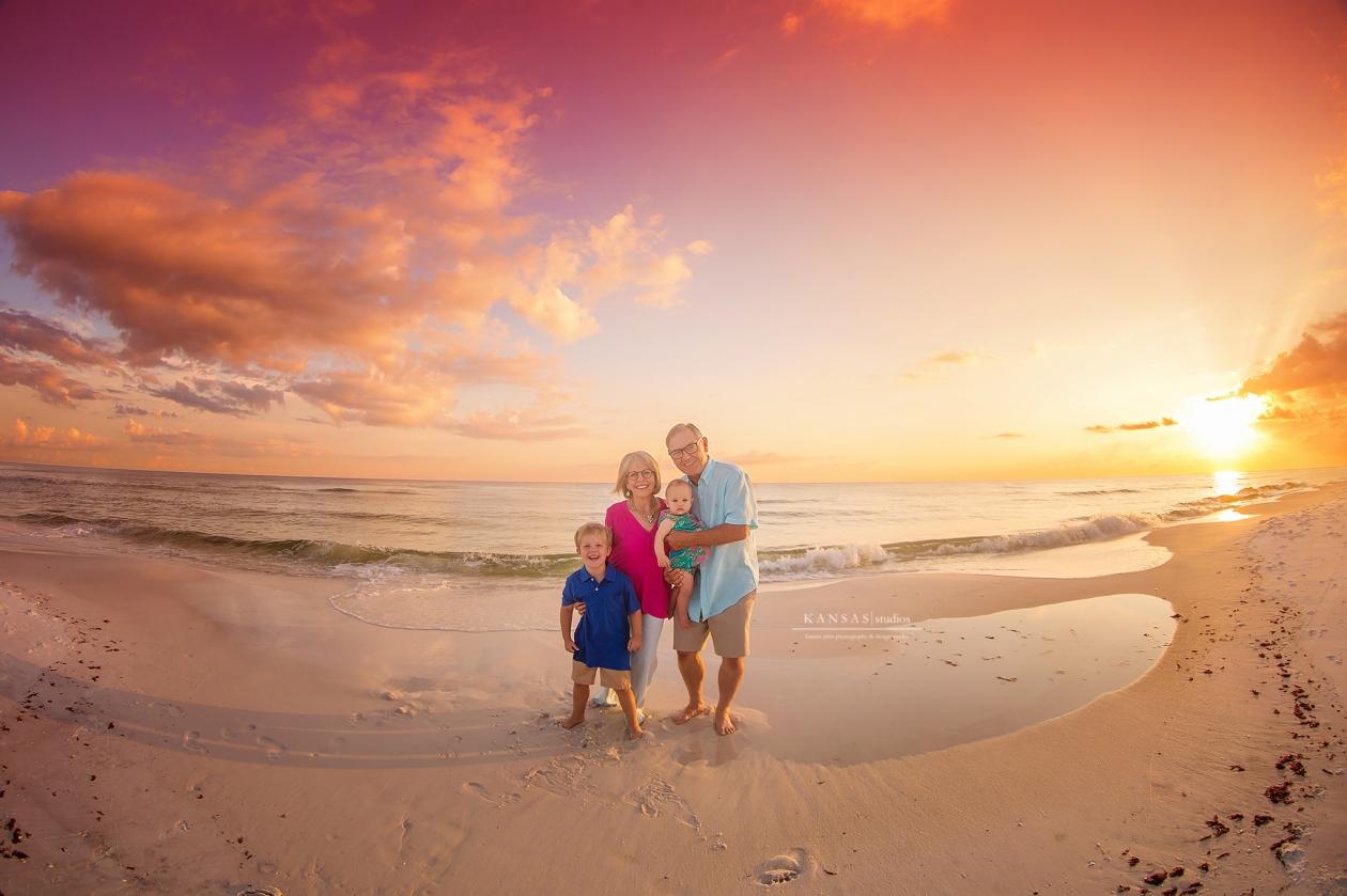 Panama City Beach Family Beach Session