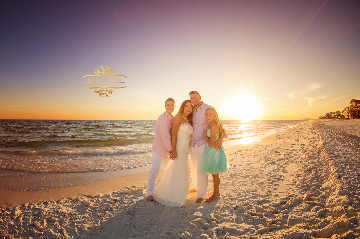 family Beach pictures in destin