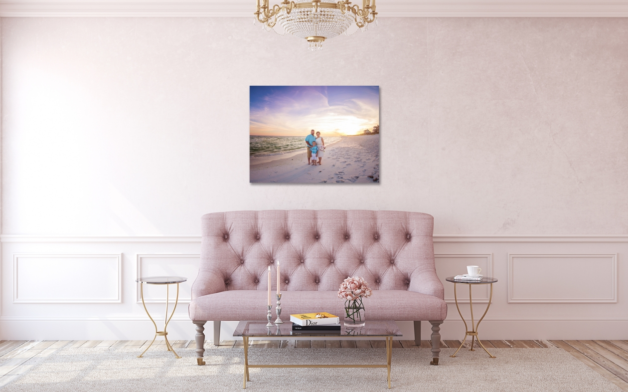 Canvas to display at reception