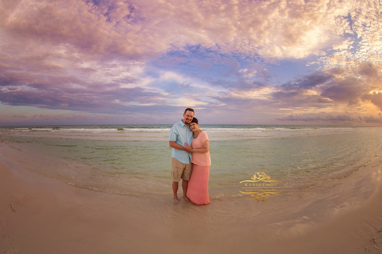 Beach Engagement Pictures at Seagrove