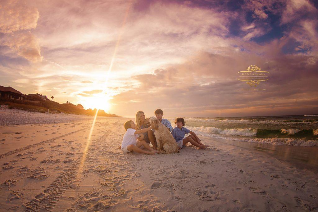 sunrise beach family photographer in south walton