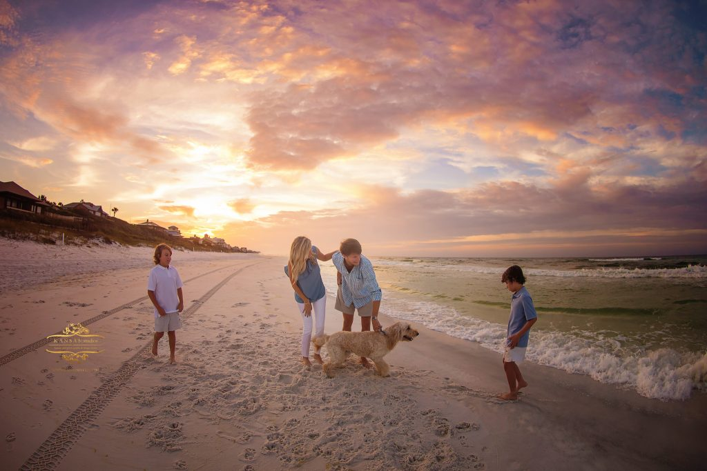 sunrise beach photographer Luke Andrews