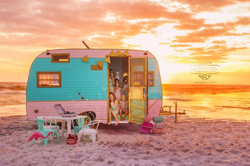 camping on the beach in santa rosa beach