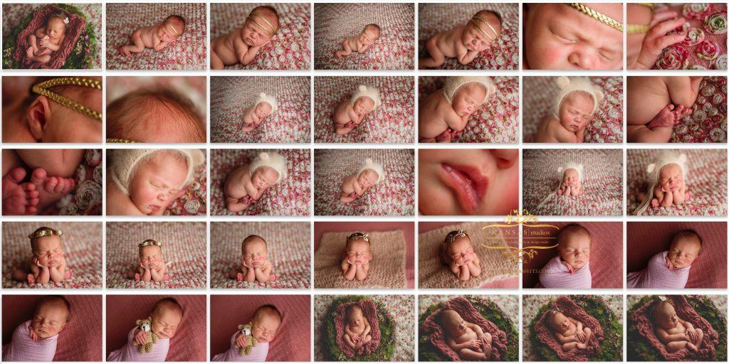 santa rosa beach newborn studio