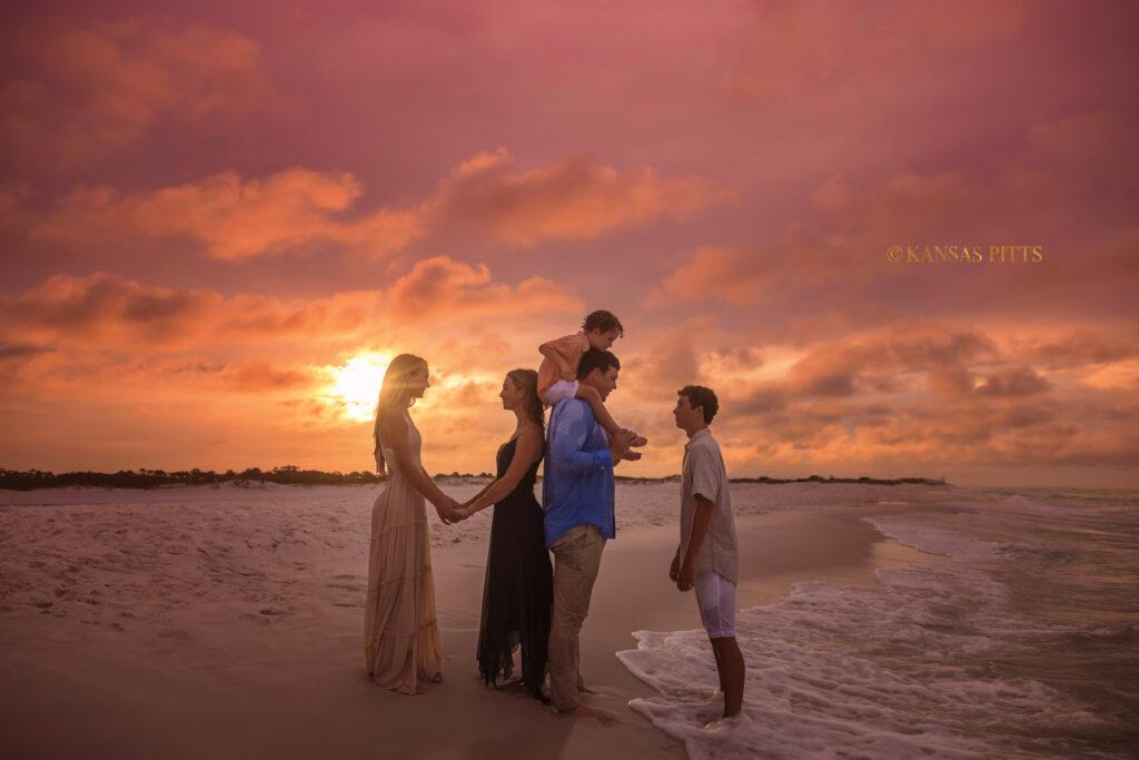 Grayton Beach Family Beach Pictures